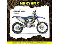 Sherco SE 250 Factory 2022 Model - Nil Deposit Finance Available