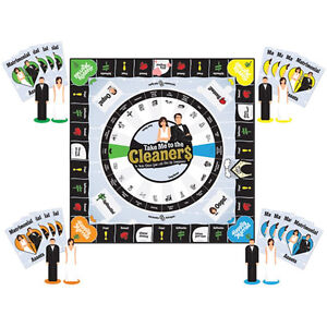 BOARD GAME - TAKE ME TO THE CLEANERS