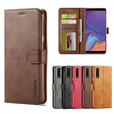 Galaxy-leder Etui (Samsung Galaxy A20e A30 A40 A50 A70 Handy Hülle Leder Schutz Case Tasche Etui)