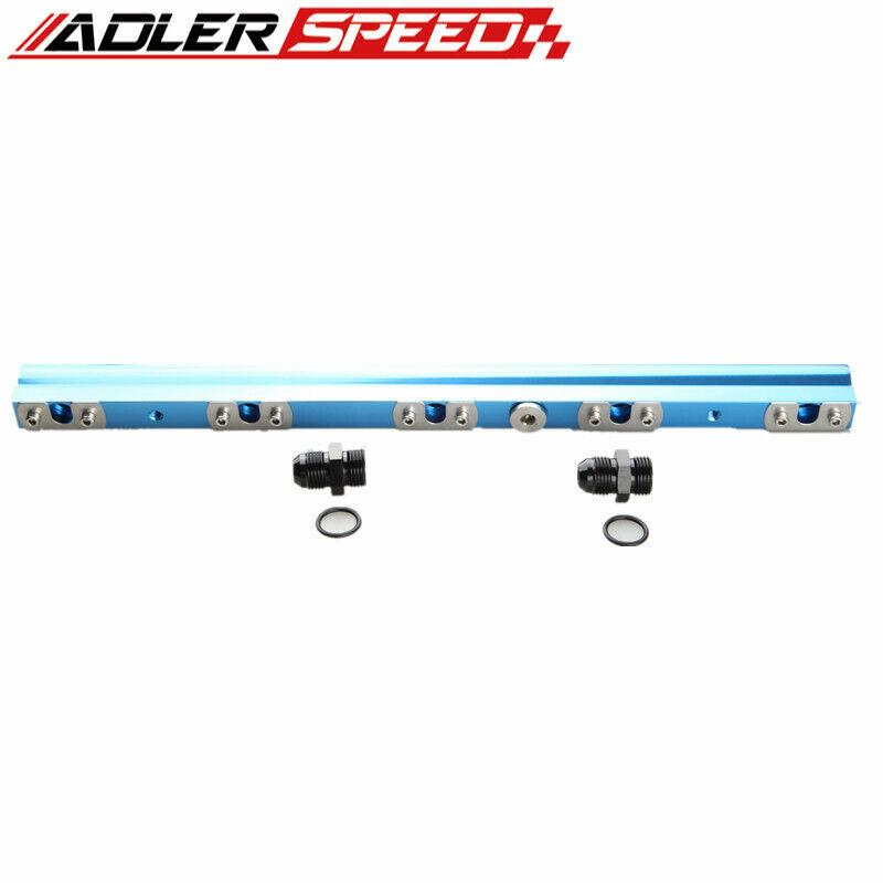 Billet Aluminum High Flow Fuel Rail For Volvo 850 S//V//C70 S60 XC70N V70N Red US