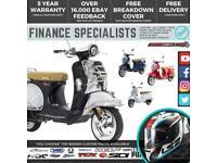 Lexmoto Milano 125 EFi 125cc Cheap Retro Scooter *FINANCE* UK/IRE DELIVERY *