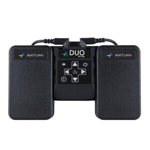 Airturn Duo Bluetooth. Music/Lyric Controller
