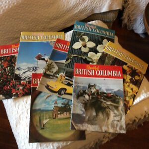 Old Beautiful British Columbia Magazines