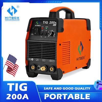 Hitbox Tig 200a Tig Welder 110v 200v Igbt Mma Arc Tig Electric Inverter Welder