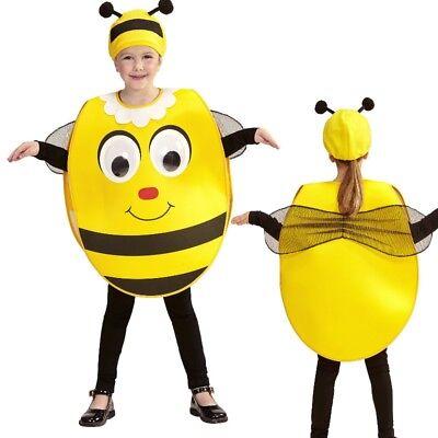 BIENE MIT RIESENAUGEN Kleinkind  sweet Bee Bienen Kostüm für Kinder 2-4 (Männliche Bienen Kostüm)
