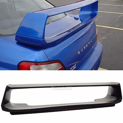 Fit For 02-07 Subaru Impreza WRX STI Trunk Spoiler Wing OE & Brake -