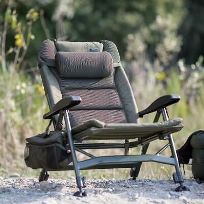 New Solar Tackle SP C-Tech Recliner Low Chair - CH04 - Carp Fishing Setup