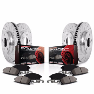 Power Stop K5958 1-Click Brake Kit For 2012-14 JEEP Grand Ch