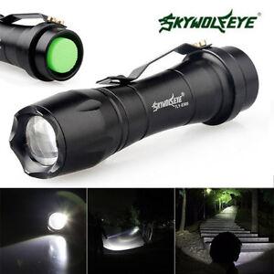 Mini-8000LM-Linterna-LED-Con-zoom-XP-E-3-Modalidades-Luz-nocturna-NUEVO
