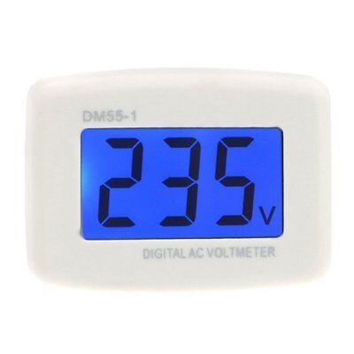 Dm55-1 Ac 80-300v Lcd Digital Voltmeter Us Plug-in Electric Pen Meter H6a1