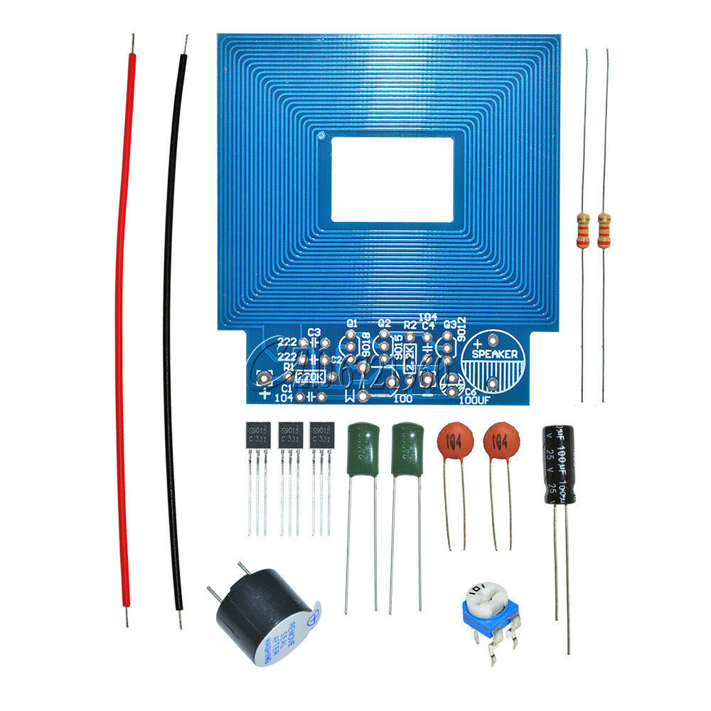 Simple Metal Detector Locator Dc Electronic Production 3v5v Schematic Design Diy Kit