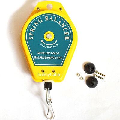 Spring Balancer Tool Holder Ergonomic Hanging Retractable 0.6-2kg