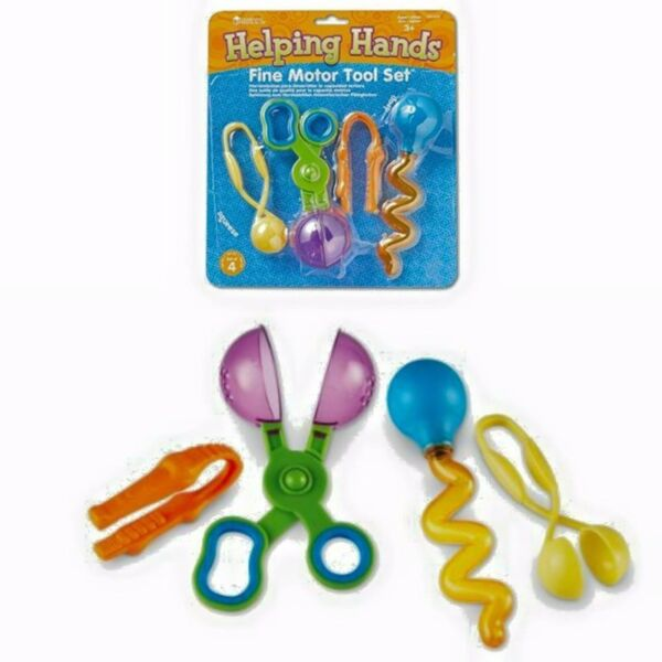BNIP: Learning Resources Helping Hands Fine Motor Tool Set