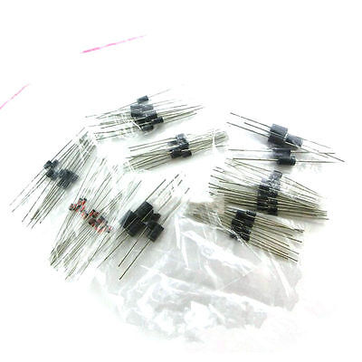 100pcs 8 Values Diode Bag Assortment Kit 1n4148 Fr107 1n5408 For Arduino