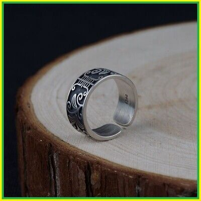 Rings Women Men S925 Sterling Silver Anillos Flower Best Gift (Best Men's Fashion Rings)