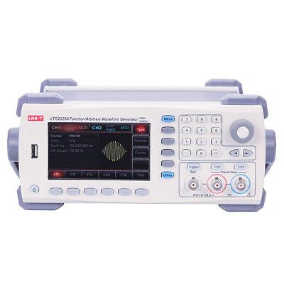 Uni-t Utg2025a Signal Function Arbitrary Waveform Generator 25mhz Usb Dual Chan