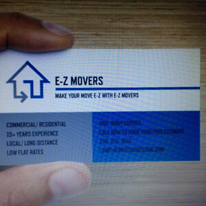 E-Z MOVERS 25% OFF!