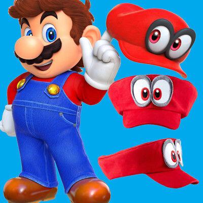 Super Mario Bros. Hat Odyssey Anime Baseball Cap Cosplay Costume Accessories  - Mario Costume Accessories