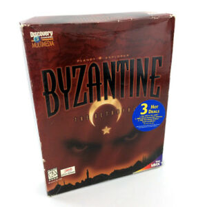 Byzantine The Betrayal PC Video Game Planet Explorer Windows 95