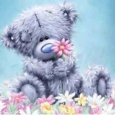 Cartoon bear DIY 5D Diamond Painting Embroidery Cross Craft Stitch Art Kit Home
