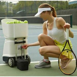 Portable Battery Operated Tennis Ball Machine Basic Charger 032015