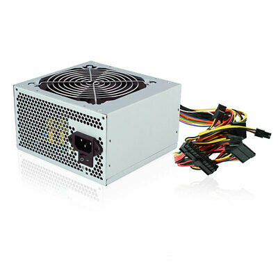 Alimentatore PC 500 WATT ATX BTX 3 SATA 2 IDE Ventola 12CM 24 PIN 20+4 PIN