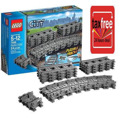 Lego City Flexible Tracks Set 7499 Straight Play Brand Train Farther Kid Toy New