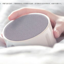 New Xiaomi 5w Mi Portable Mini Bluetooth Smart Alarm Clock Speaker APP Control