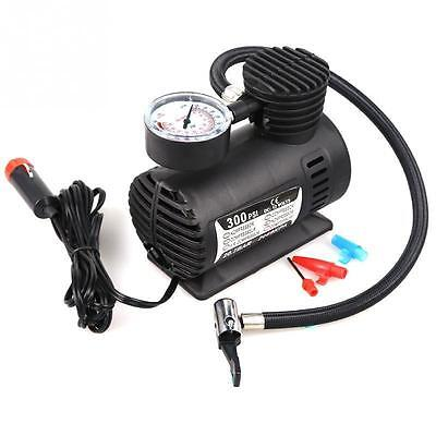 Portable Mini Air Compressor Electric Tire Infaltor Pump 12 Volt Car Auto PSI CA