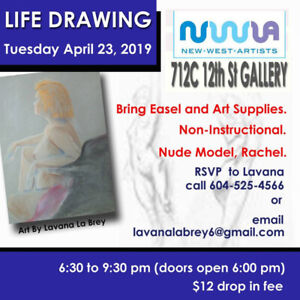 Life Drawing Model | Kijiji - Buy, Sell & Save with Canada's #1 ...