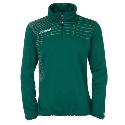 Uhlsport Match 1/4 Zip Top Trainingspullover Damen grün M-XXL NEU 49809