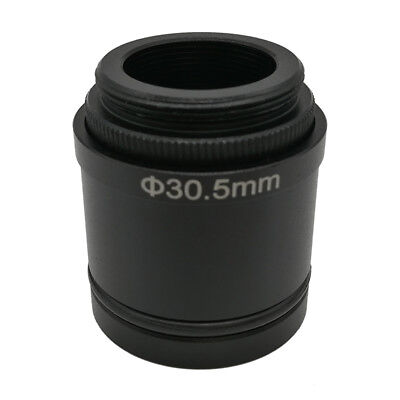 C-mount To 30 Mm 30.5 Mm Adapter For Stereo Microscope Connecting To Usb Camera
