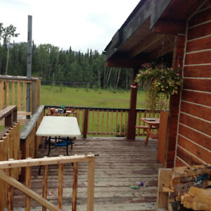 Country living on Annie lake road. 2 bedrooms, 900 sq.ft.