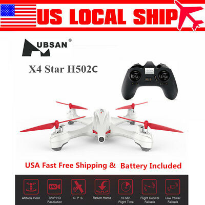 Hubsan X4 H502C RC Quadcopter Drone 2.4G 4CH 720P Altitude Hold Auto-Return GPS