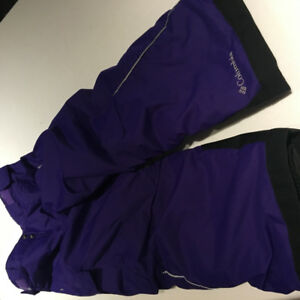 NEW! COLUMBIA BUGABOO SNOW PANT PURPLE 4/5
