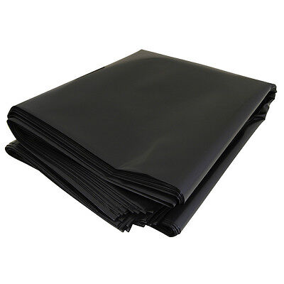 Box of 100 Heavy Duty Black Rubble Sacks 508mm x 762mm