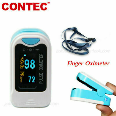 Contec Cms50na Oled Pulse Oximeter Blood Oxygen Monitor Spo2- Same Day Fast Ship