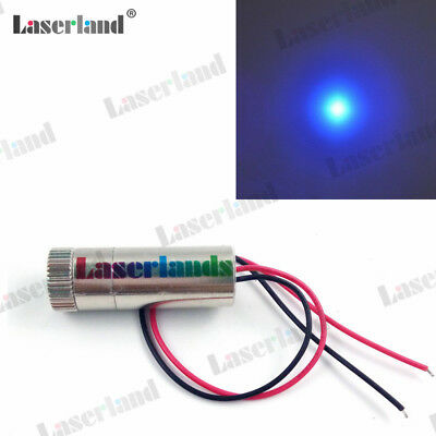 Laserland 1235 3-5v Focusable 450nm 80mw Blue Dot Laser Lazer Module Osram Diode