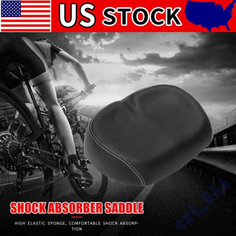 PU Pad Bike Cycle Noseless Saddle Bicycle Seat Cushion Big A