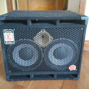 David Eden 210 xlt bass amp