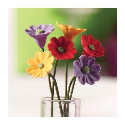 Dolls House 4947 Blumen Gerberas (6 St.) 1:12 für Puppenhaus NEU! #
