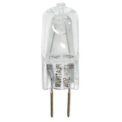 - BulbAmerica 50W 120V T4 GY6.35 Bi-Pin Base Clear Halogen Bulb