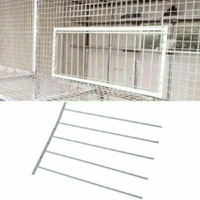5pcs Bird Racing Pigeon Cage Door Stainless Steel Entrance Wire Trap Curtain