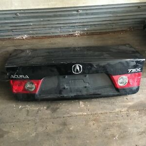 2008 Acura Tsx Trunk Lid Black