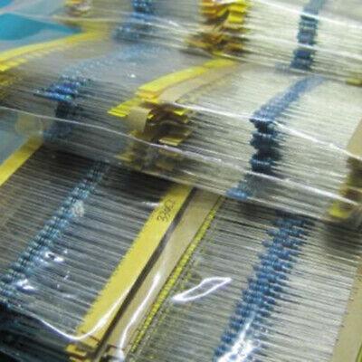 1280pcs 64 Values 1 Ohm - 10m Ohm 14w Metal Film Resistors Assortment Kit Cao