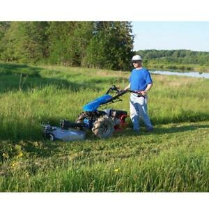 Blow, Plow, Till and Mow With One Unit. BCS Tractors are in stock and on sale at CR Equipment!