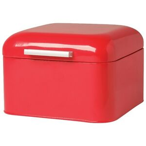Now Designs Kitchen Bakery Box Red, New