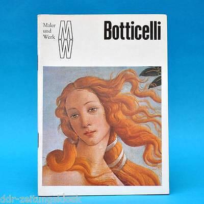 DDR   Maler und Werk   Sandro Botticelli   1975   Bild Gemälde Malerei
