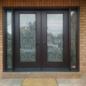 Steel door,fiber glass door 40% off