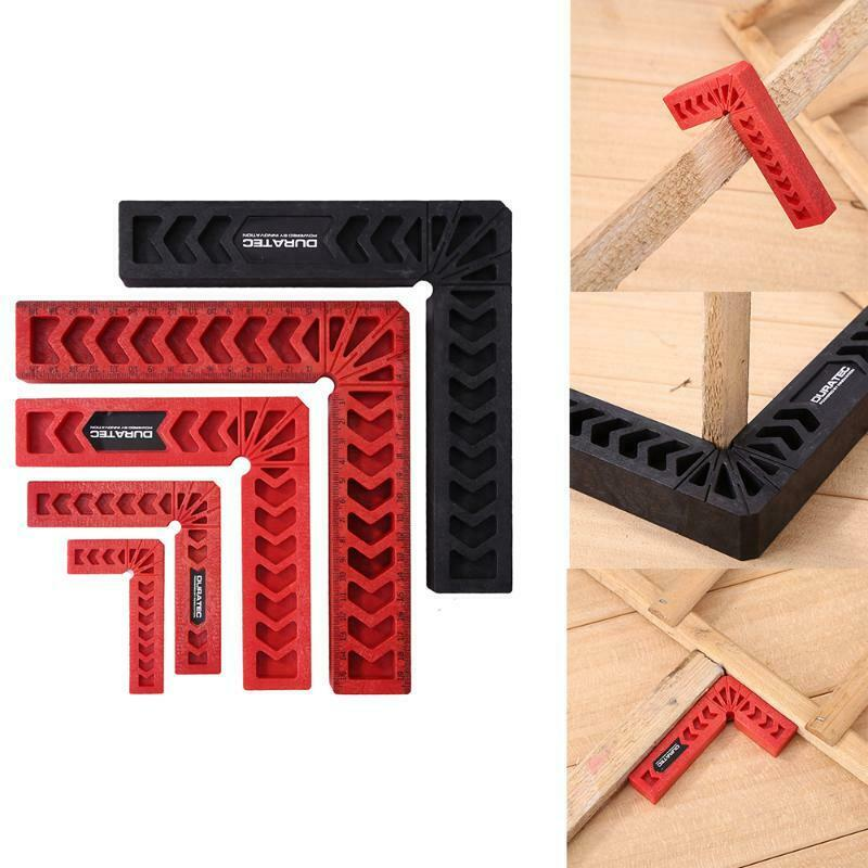 DURATEC 90° Right Angle Clamp L-square Holder Ruler Woodwor